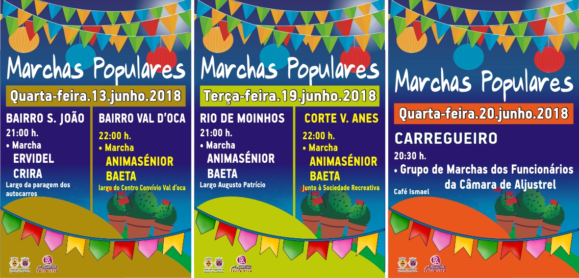 2018-06-20 Marchas populares 2018